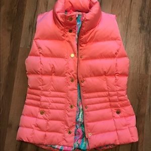 Hardly Worn Coral Lilly Vest